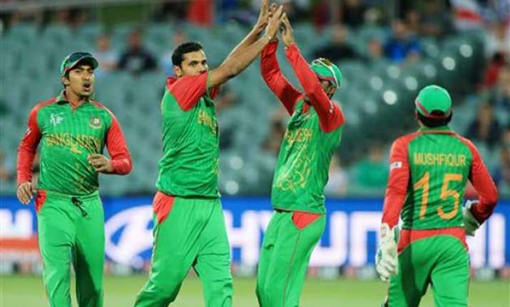 world cup 2015 bangladesh relaxed ahead of quarterfinal vs