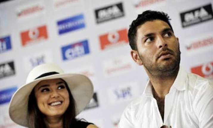 yuvraj charged again for security breach wadia fined