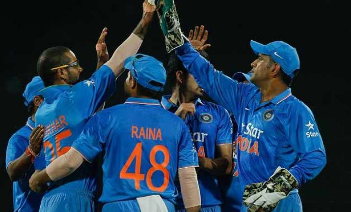 4th odi india level series with a convincing 35 run win