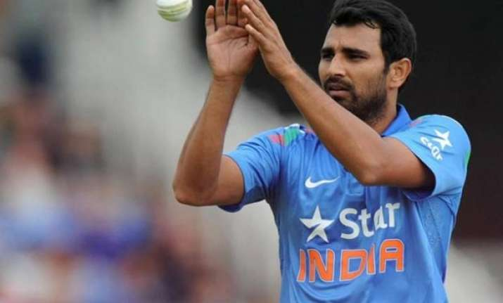 shami ruled out bhuvneshwar in for aus series