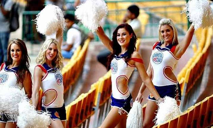 ipl 8 no decision taken on cheerleaders says ipl chairman