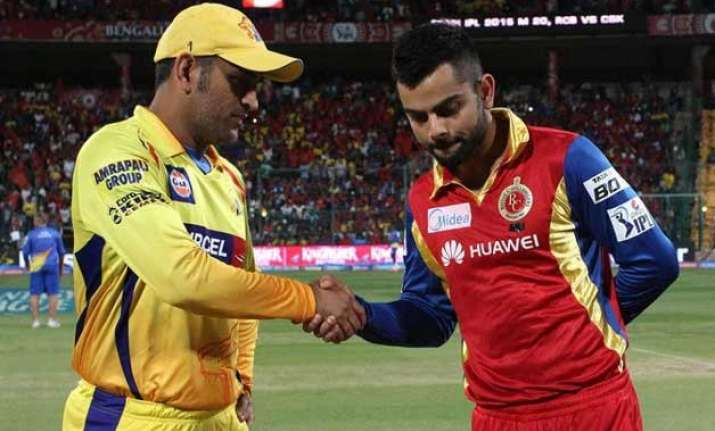 ipl 8 time to consolidate as csk rcb lock horns