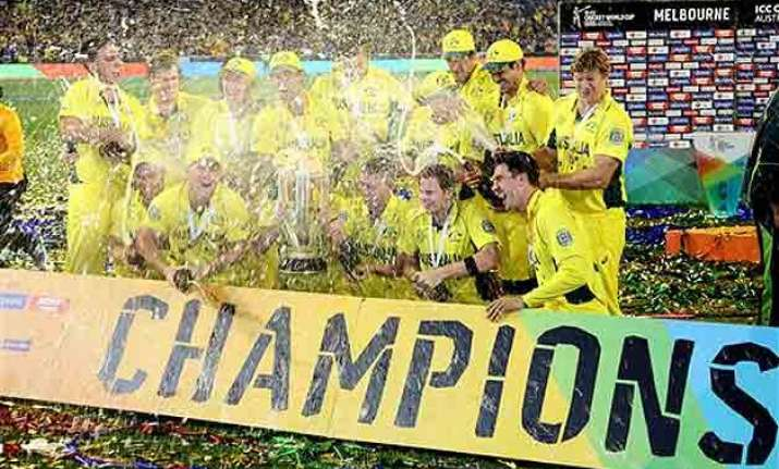 public celebration for australian cricket team on monday