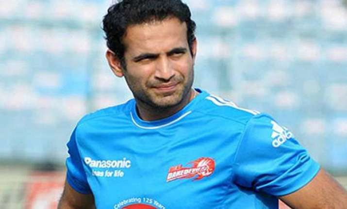 ipl 8 irfan pathan gets injured once again set to miss 1st