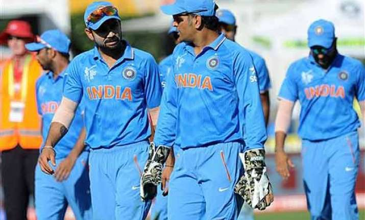 world cup 2015 media barred from indian team s hotel