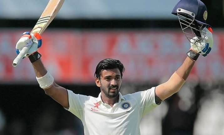 colombo test day 1 lokesh rahul slams ton as india recover