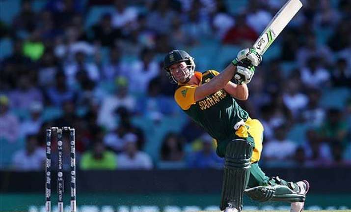 world cup 2015 de villiers 162 lifts south africa to 257