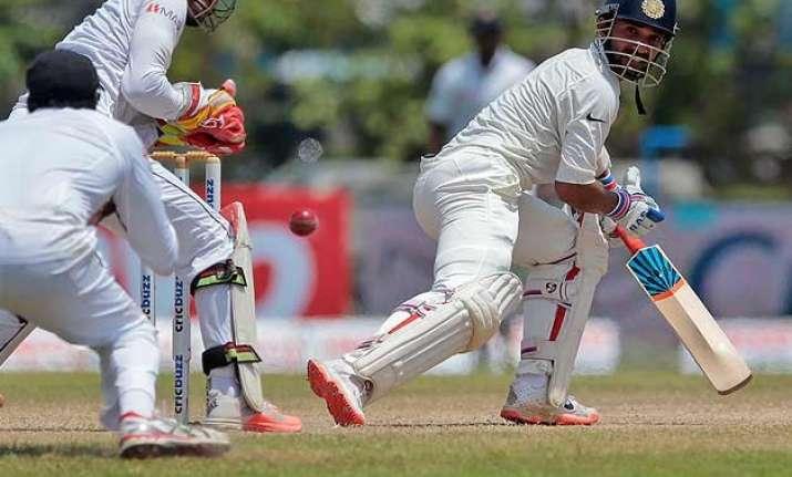 india sacrificed an uncomplaining rahane sunil gavaskar
