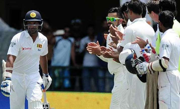 2nd test day 2 sri lanka reach 65/1 at tea in reply to