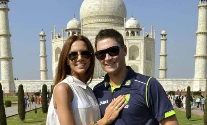 ecstatic australia captain michael clarketo be a dad