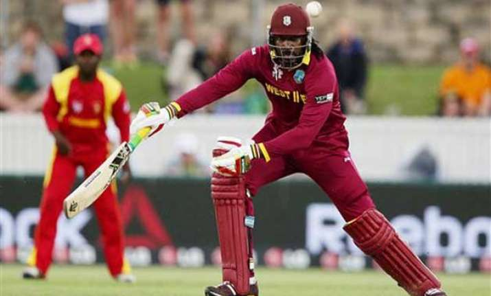 world cup 2015 gayle s fitness a worry for windies ahead of