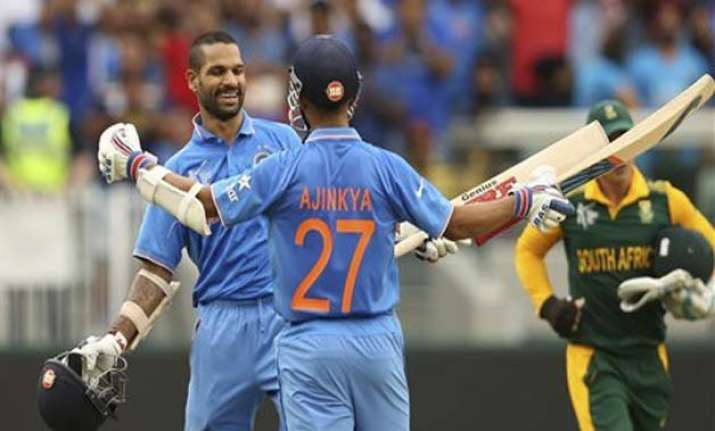 latest updates world cup 2015 india vs south africa