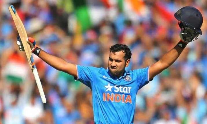 tri series 2015 rohit s 138 take india to 276 8 vs