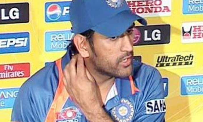 we lost in the first 15 minutes dhoni