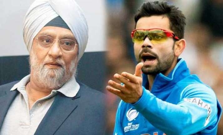 we need a strong coach to control kohli s temperament bedi