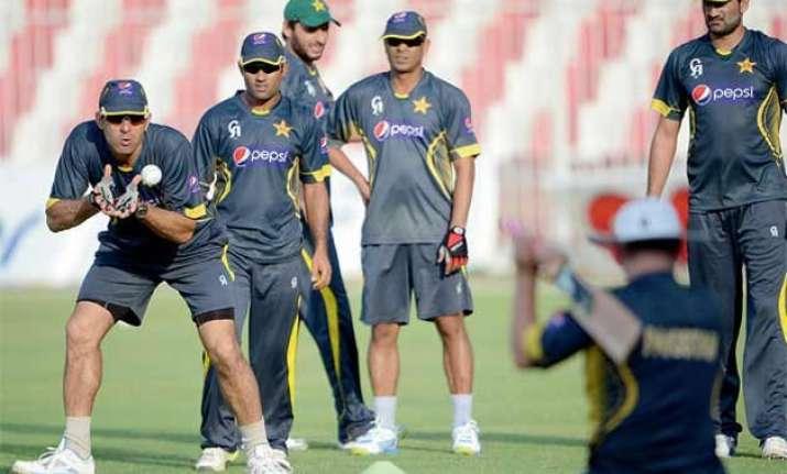 pakistani cricket team starts training for world cup