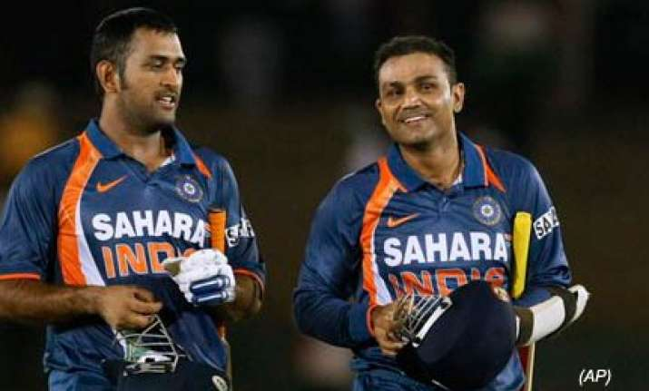 lankan team leave sehwag stranded at 99 kick up a