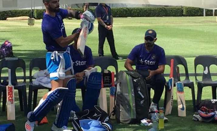 india to play two warm up matches against western australia