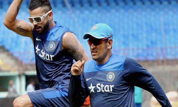 tri series 2015 team india returns to training after rest