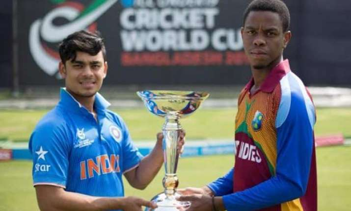 let down by batsmen india lose u 19 wc trophy to west indies
