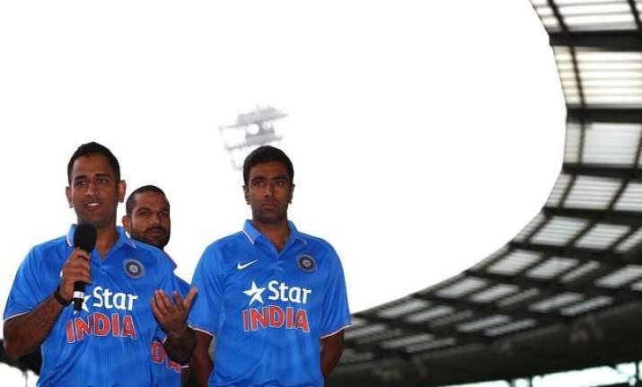 tri series 2015 dhoni avoids queries on retirement with a
