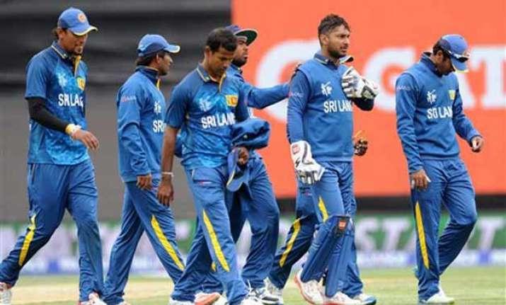 world cup 2015 sri lanka to treat afghanistan like test