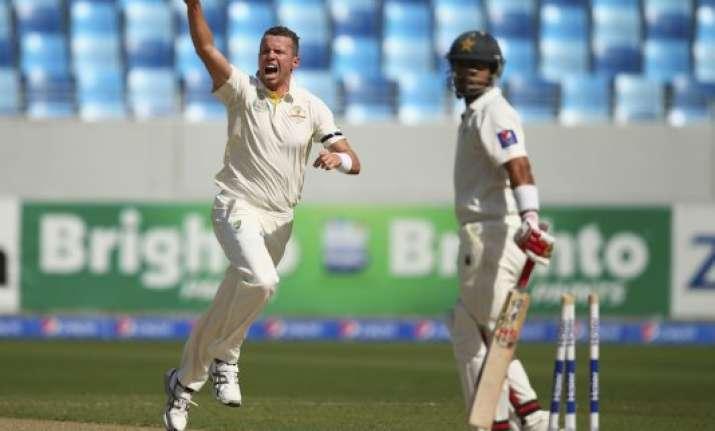 pakistan vs. australia scoreboard day 1 1st test