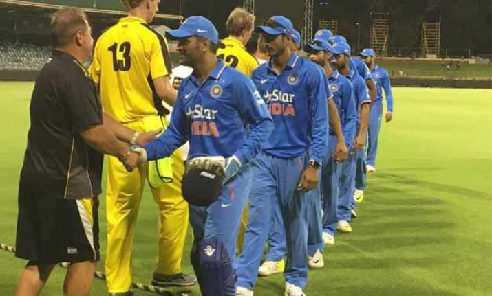 indians beat western australia in 2nd warm up game