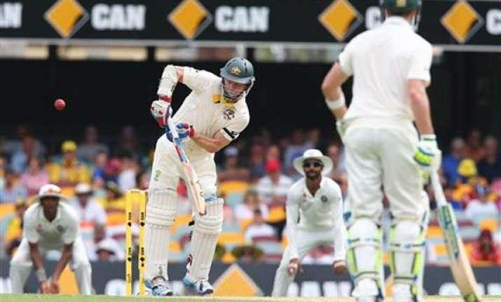 aus vs ind australia lose rogers to hand india initiative