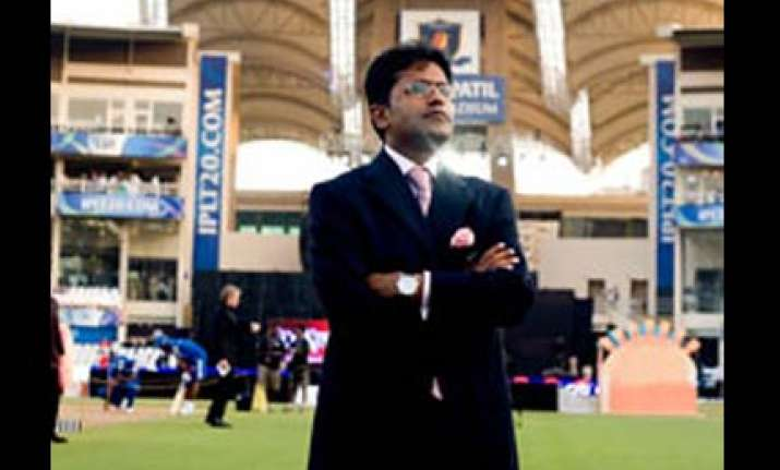 bcci lodges police complaint against lalit modi