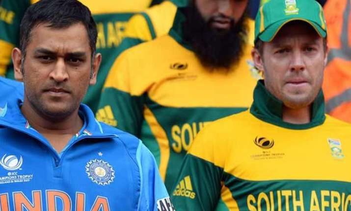 south africa opts to bat against india in first odi