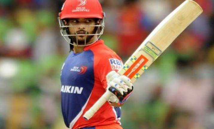 ipl 8 duminy de kock prop up daredevils to 187/5 against rcb