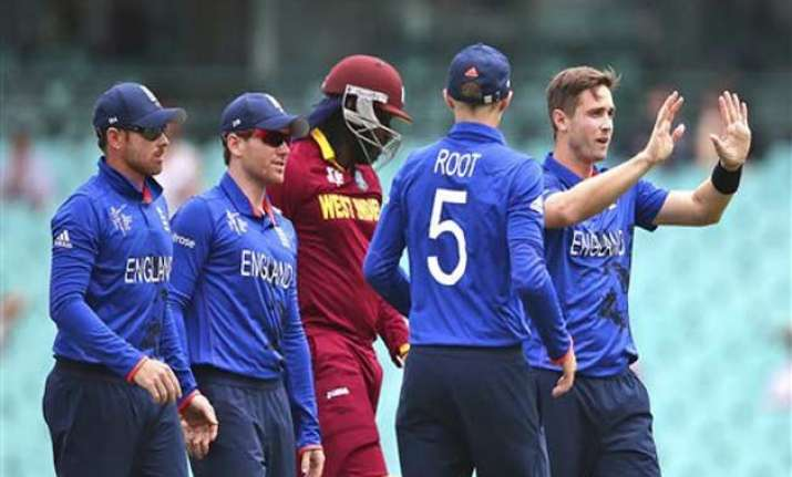 world cup 2015 warmup england dismisses west indies for 122