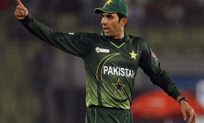 play fearless cricket in wc retiring misbah to his team