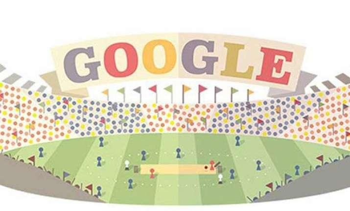 google doodle marks world t20 beginning
