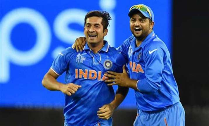 world cup 2015 discipline of indian bowlers surprised me