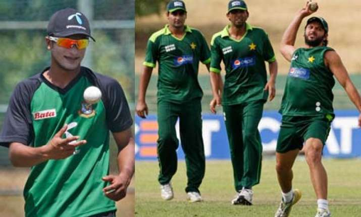 pakistan bangladesh battle for pride in inconsequential tie
