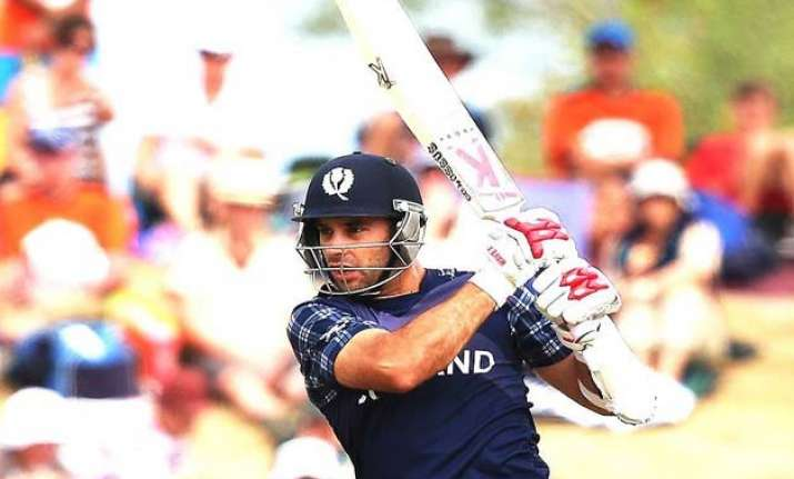 world cup 2015 coetzer s ton propel scotland to 318/8 vs