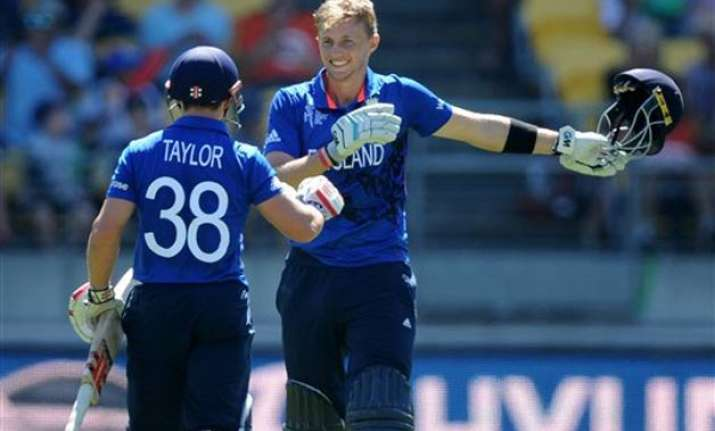 world cup 2015 root s ton lifts england to 309 6 against