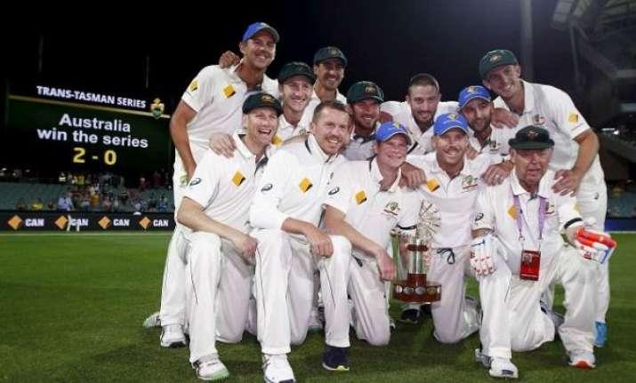australia beat new zealand by 7 wickets clinch series 2 0