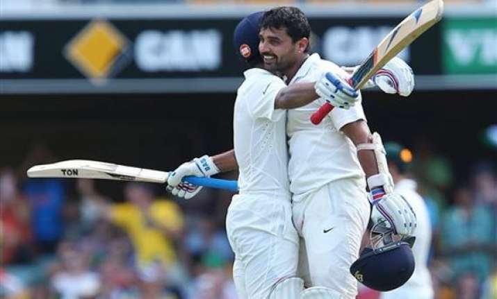 aus vs ind vijay rahane guide india to 311 4 on day 1
