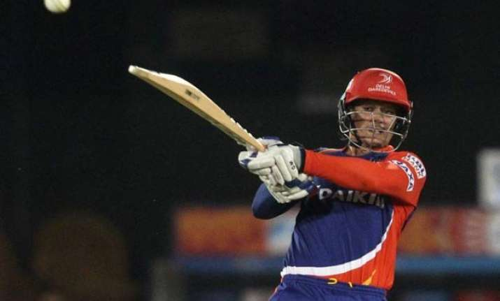 ipl 8 quinton de kock fined for showing dissent to umpire