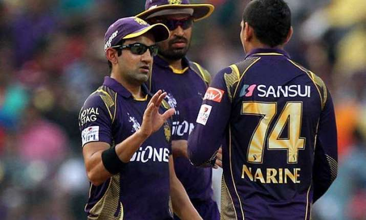 stop calling narine mystery bowler gautam gambhir