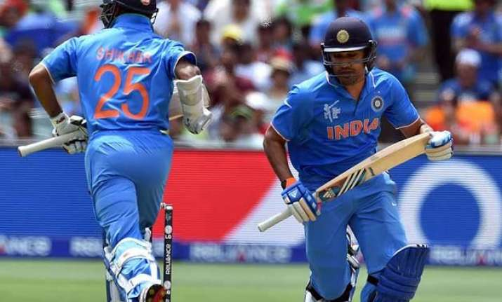 world cup 2015 team india aim to stop batting collapse