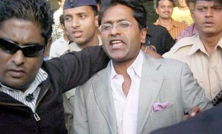 bcci dismisses lalit modi s demand for recusal of amin