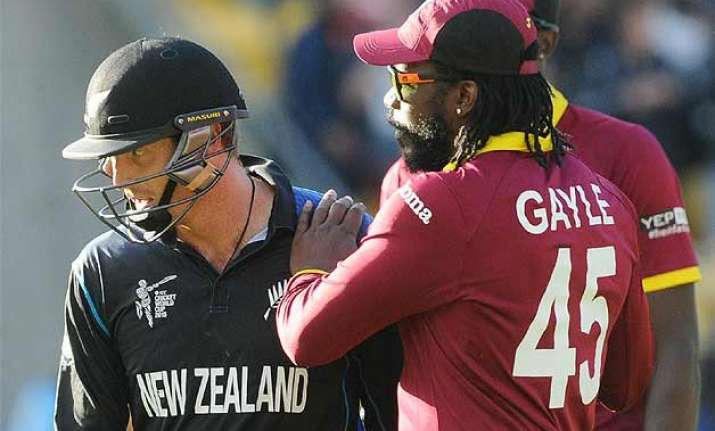world cup 2015 gayle s welcome gesture made me laugh says