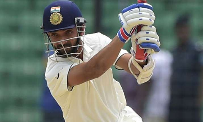 india take 266 run lead at lunch