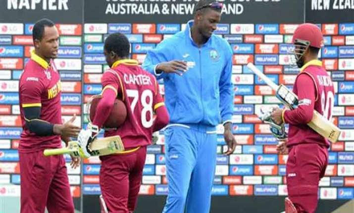 west indies wind up pressure on nz ahead of wcup quarter