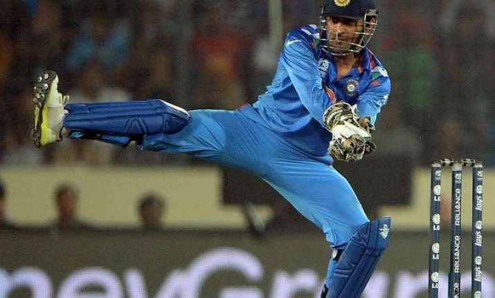 dhoni wasn t flexible in handling bowlers gavaskar