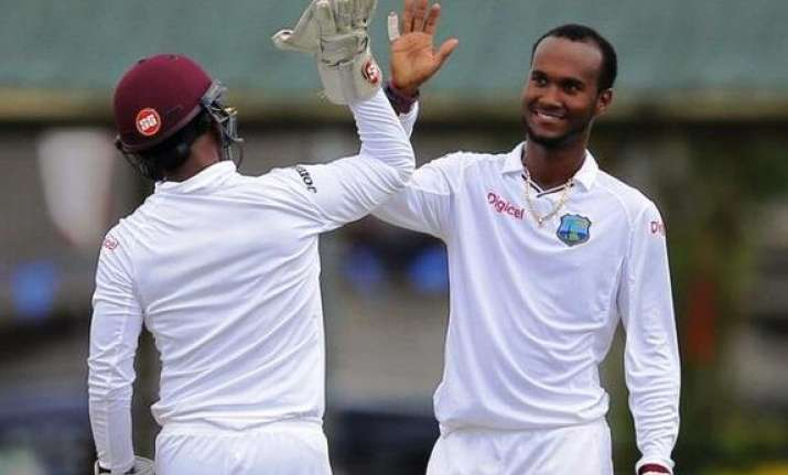 west indies scent victory after sri lanka collapse in 2nd
